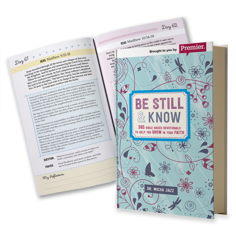 Be Still & Know book cover